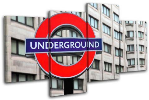 London Underground Landmarks - 13-1041(00B)-MP04-LO